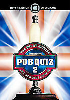 Great British Pub Quiz 2 - DVD Interactive Game [Interactive DVD]- ALL NEW 2007