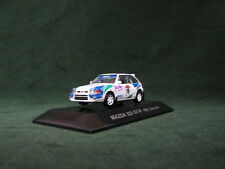 MAZDA  323 GT-R 1993 WRC Sanremo Rally 1:64 CM's Rally Car Collection Japan