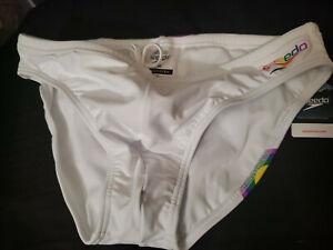 Speedo Mens Sz 34 Swimsuit Brief Powerflex Eco Solar Rainbow 34 wvwvwvr111