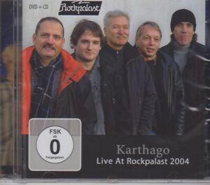 KARTHAGO, LIVE AT ROCKPALAST 2004, CD + DVD, SEALED