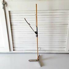 """Vintage Skirt Marker Dritz Wood Ruler Yard Stick Hem Marker Metal Base 26"""""""