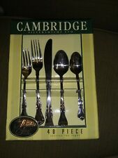 Beautiful Mirror 40 Piece Flatware New Tableware Silverware Spoons Forks New