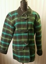 "Women's ""Denim&Co."" fall/spring casual jacket size M 100%Cotton! Plaids&Checks."