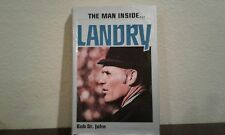 The Man Inside by Bob St. John          1979 HC/DJ Book on Tom Landry