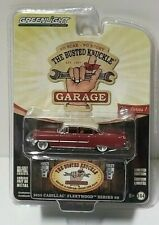 Greenlight The Busted Knuckle 1955 Cadillac Fleetwood Series 60 Red 1:64 1/64
