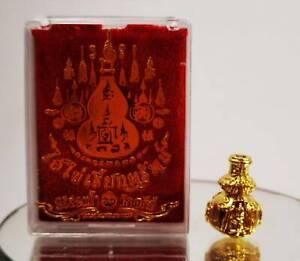 I Ai Kai Gold Calabash wealth money Talisman Lucky Gamble Kuman Thong Amulet