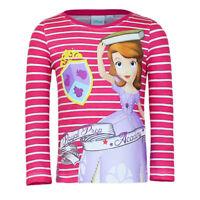Disney Prinzessin Sofia Langarmshirt Pullover Shirt Größe 128