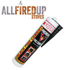 Black Fire Cement 1250 C 2280 F - 310ml for Fireplace Stove Boilers