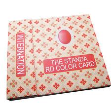 120 Colors Nail Gel Polish Display Book Chart for Nail Art Salon Card Display