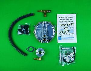 Tecumseh Propane Natural Gas Tri-Fuel Conversion Kit HM-100 HM-80 Engines & +