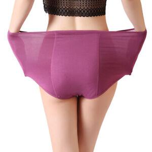 Plus Size Women Underwear Period Panty health leak proof Briefs knicker 2XL-4XL