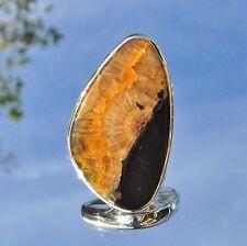 Septarie Ring, 925er Silber, Edelsteinring (21295), Edelsteinschmuck