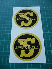 Speedwell Stickers -Yellow (Pair)