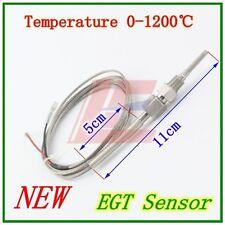 2M EGT Thermocouple K Type Temperature Probe Sensors Exhaust Gas Screw Threads