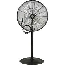 Misting and Oscillating Pedestal Fan