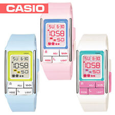 Casio Ladies Digital Watch Poptone Choice of 3 colours LDF51 UK SELLER