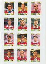 DENMARK UEFA EURO 1996 SQUAD ORIG HAND SIGNED PANNINI STICKERS 12 X SIGNATURES