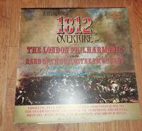 TCHAIKOVSKY * 1812 OVERTURE / CAPRICCIO ITALIEN OP. 45 * LPO VINYL LP VG/EX