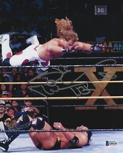 Shawn Michaels Signed WWE 8x10 Photo BAS Beckett COA Wrestlemania X Picture Auto