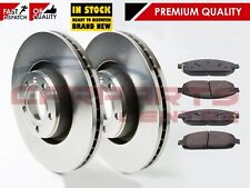 FOR JEEP GRAND CHEROKEE WK 3.0 CRD 4.7 5.7 2005-2010 FRONT BRAKE DISCS PADS