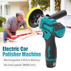 "Cordless Car Buffer Polisher Sander Waxer Kit 5"" Pads Polishing Machine Tool US"