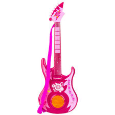Kid Electric Rock n Roll Guitar Musical Instrument Toy Set Light Music Xmas Gift