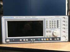Rohde & Schwarz SMIQ 03B Signal Generator, 300Khz-3.3Ghz, 1125.5555.03, battery