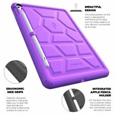 Para iPad Pro 9.7 2016 a Prueba de Golpes [] con protección contra caídas Silicona Funda cubierta púrpura