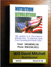 Ymart NUTRITION REVOLUTION Master Nutritionist Will David Mitchell SOFTCOVER