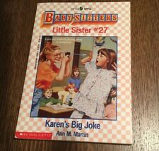 Ann M. Martin, Baby-sitters Club, Little Sister 27 Karen's Big Joke