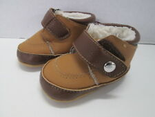 Stepping Stones faux fur lined boots Size 3-6 Months