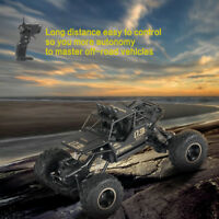 1:16 Scale 2.4G 4WD Drive Rock Crawler Remote Truck RC Car Xmas Toy