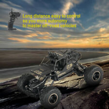 1/16 Scale 2.4Ghz 4WD Drive Rock Crawler Off-road Remote Control RC Car Toy
