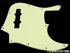 * NEW Mint Green PICKGUARD for Fender Jazz Bass 3 Ply Standard 10 Hole
