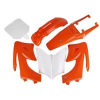 HMParts Dirt Bike Pit Bike Verkleidung SET 125 -150 ccm Orange Typ 2