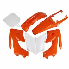 HMParts Dirt Bike Pit Bike Verkleidung SET 125 -150 ccm Orange Typ 2
