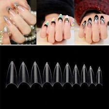 DIY Maniküre Transparente Nail Tips 500pcs/Packung künstlich Nagel aus Acryl-Gel