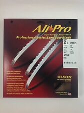 """Olson All-Pro Band Saw Blade 142"""" x 1/2"""", 3TPI for Rikon 10-340, 10-345 & others"""