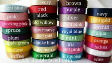 """170 yards-wholesale 1/4"""" Double Faced Satin ribbon lot"""