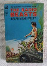 1964 The Radio Beasts Ralph Milne Farley Ace F-304 1st ed paperback VF