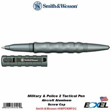 Smith & Wesson #SWPENMP2G Military & Police 2 Tactical Pen Aircraft Alum Gray