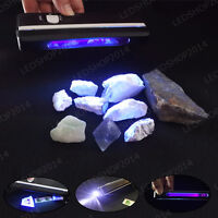 254nm Handheld Short Wave Phosphor Minerals Detection UV Light w/ Optical Filter