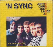 SEALED NEW CD N Sync - The Interview CD