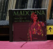 Used CD Madonna Dress You Up / Ain't No Big Deal 1990 Sire Import WPCP-3438