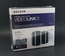 Brand New & Sealed - Belkin VideoLink 3 Powerline Internet Adapter