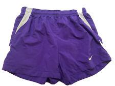 Nike Dri Fit Shorts Womens Purple Size Medium Soccer