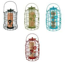 Bird Feeders Flower Cage for Gardens Squirrel Resistant Feeding Station