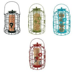 Bird Feeders Flower Cage for Gardens Squirrel Resistant Feeding Station
