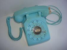 Antique original Blue   Western Electric telephone model 500 set 1966  Custer