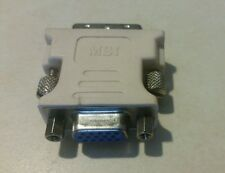 Golden tee or Power Putt DVI to VGA adapter. Needed for most Nighthawk sytems
